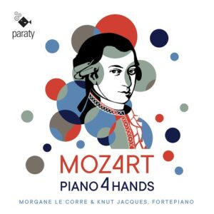 Mozart: Piano 4 Hands - Morgane Le Corre & Knut Jacques