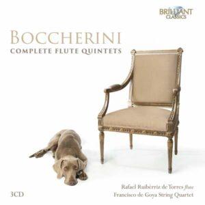 Luigi Boccherini: Complete Flute Quintets - Rafael Ruiberriz de Torres