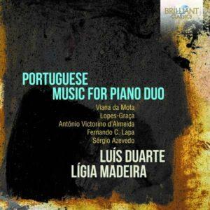Portuguese Music For Piano Duo - Luis Duarte & Ligia Madeira