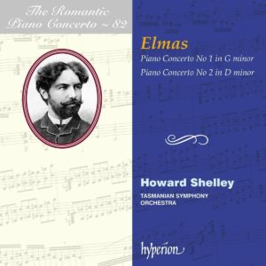 The Romantic Piano Concerto Vol.82 | Stephan Elmas: Piano Concertos Nos.1 & 2 - Howard Shelley