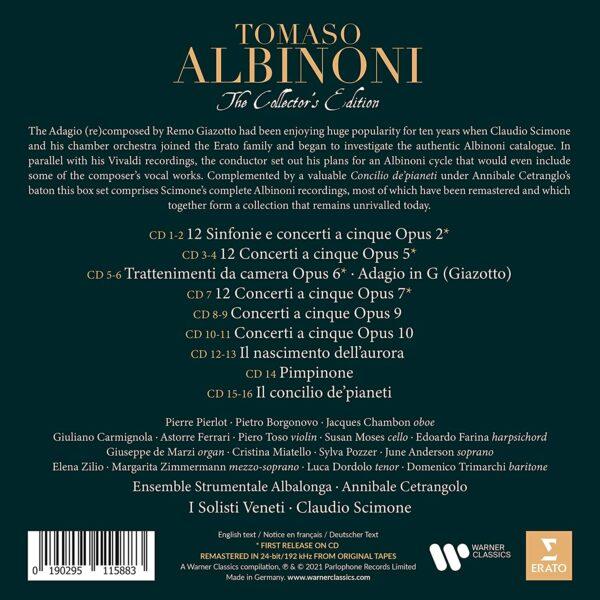 Tomaso Albinoni - The Collector's Edition