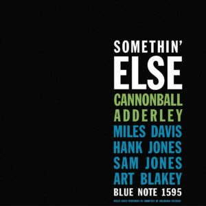 Somethin' Else (Vinyl) - Cannonball Adderley