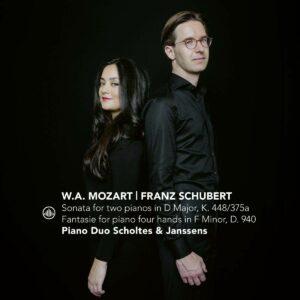 Mozart / Schubert / Bach - Piano Duo Scholtes & Janssens