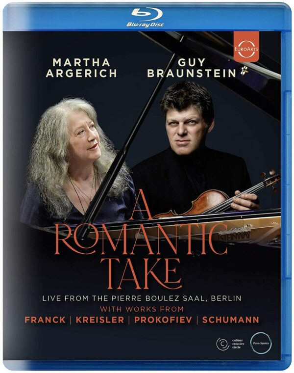 A Romantic Take - Martha Argerich & Guy Braunstein