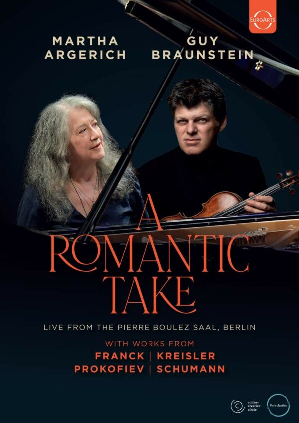 A Romantic Take - Martha Argerich & Guy Braunstein