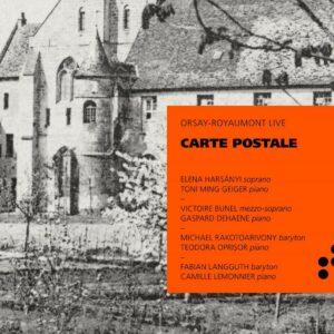 Carte Postale (Mélodies par Hahn, Chausson, Wolf, Schubert, Poulenc & Ravel) - Elena Harsanyi