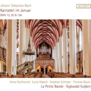 Bach: Kantaten Im Januar - La Petite Bande, Sigiswald Kuijken