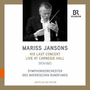 His Last Concert Live At Carnegie (8 Nov. 2019) (Vinyl) - Mariss Jansons
