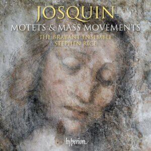 Josquin Desprez: Motets & Mass Movements - The Brabant Ensemble
