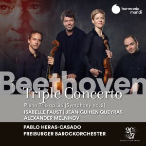 Beethoven: Triple Concerto Op.56, Piano Trio Op.36 - Isabelle Faust