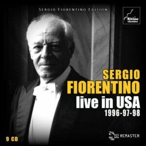 Live In USA 1996-97-98 - Sergio Fiorentino