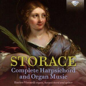 Bernardo Storace: Complete Harpsichord & Organ Music - Enrico Viccardi