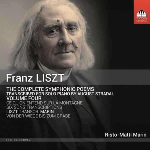 Franz Liszt: Complete Symphonic Poems For Piano Vol.4 - Risto-Matti Marin