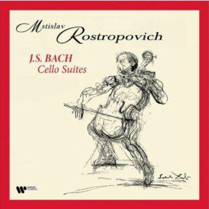 Bach: Cello Suites (Vinyl) - Mstislav Rostropovich