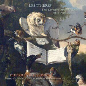 Buxtehude: Sonatine à doi, Violine and Viola da Gamba, Opus 1 & 2 - Les Timbres