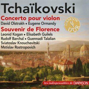 Tchaikovsky: Violin Concerto, Souvenir de Florence (Les indispensables de Diapason)