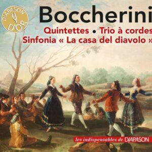 Luigi Boccherini: Quintettes, Trio à cordes, Sinfonia