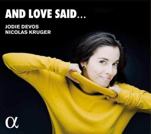 And Love Said... - Jodie Devos