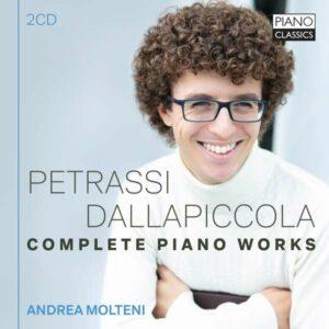 Petrassi / Dallapiccola: Complete Piano Works - Andrea Molteni