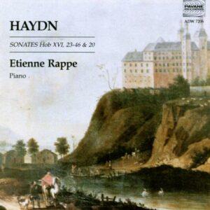 Haydn : Sonatas Hob XVI, 23-46&20. Rappe, E.