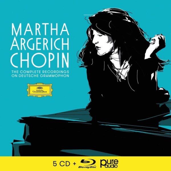 Frédéric Chopin: Solo & Concerto Reordings On Deutsche Grammophon - Martha Argerich