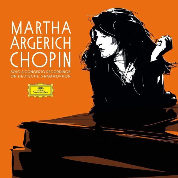 Frédéric Chopin: Solo & Concerto Reordings On Deutsche Grammophon (Vinyl) - Martha Argerich