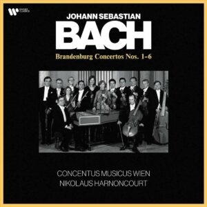 Bach: Brandenburg Concertos Nos.1-6 (Vinyl) - Nikolaus Harnoncourt