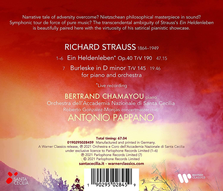 Strauss Ein Heldenleben Burleske Bertrand Chamayou La Boite A Musique