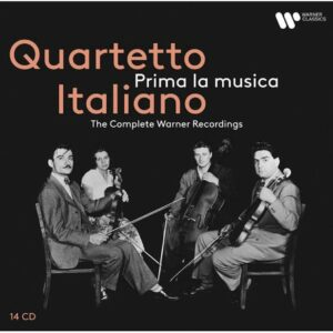 Prima La Musica, The Complete Warner Recordings - Quartetto Italiano