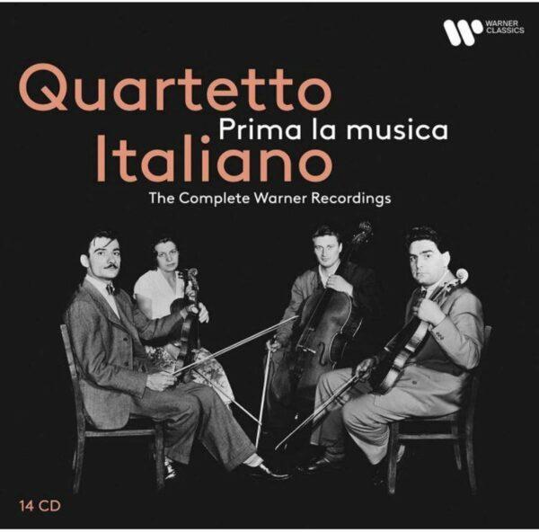 Prima La Musica, The Complete Warner Recordings - Quartetto Italiano