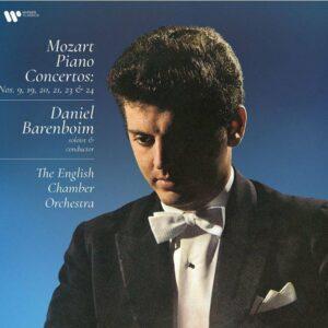 Mozart: Piano Concertos Nos.9, 19, 20, 21, 23 & 24 (Vinyl) - Daniel Barenboim