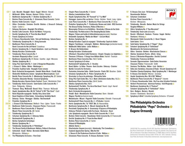The Columbia Legacy - Eugene Ormandy