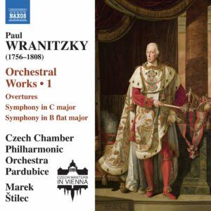 Paul Wranitzky: Orchestral Works Vol.1 - Marek Stilec