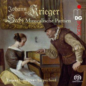 Johann Krieger: Sechs Musicalische Partien - Tatjana Vorobjova