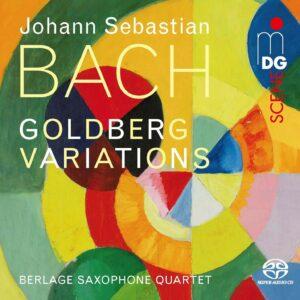 Bach: Goldberg Variations BWV 988 (Arr. Peter Vigh) - Berlage Saxophone Quartet