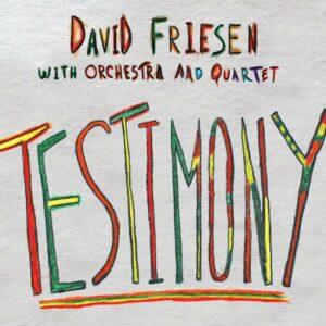 Testimony - David Friesen