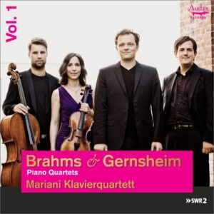Brahms / Gernsheim Piano Quartets - Mariani Klavierquartett