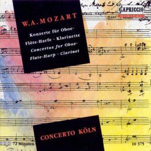 Wolfgang Amadeus Mozart : Konzerte KV314, 622 & 299
