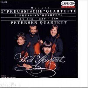 Wolfgang Amadeus Mozart : Preussische Quartette