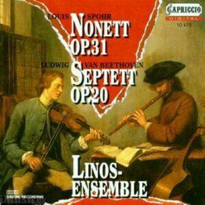 Ludwig van Beethoven - Louis Spohr : Septett op.20 - Nonett op.31