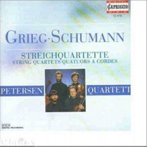 Edvard Grieg - Robert Schumann : Streichquartette op.27 & 41