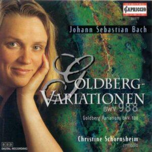 Johann Sebastian Bach : Variations Goldberg BWV 988 - Christine Schornsheim