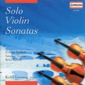 Szekely - Veress - Bartok : Solo pour violon