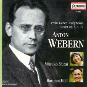 Anton von Webern: Lieder - Mitsuko Shirai & Hartmut Höll