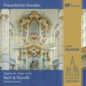 Frauenkirche Dresden. Organ Music By Bach & Duruflé - Samuel Kummer