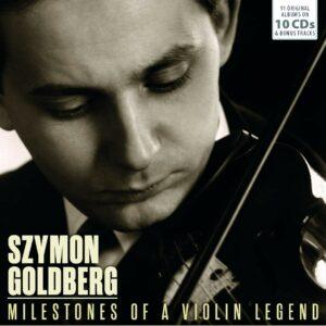 Milestones Of A Violin Legend - Szymon Goldberg