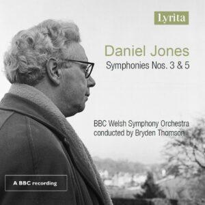 Daniel Jones: Symphonies Nos. 3 & 5 - Bryden Thomson
