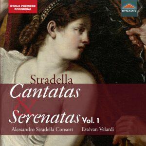 Alessandro Stradella: Cantatas And Serenatas Vol. 1 - Alessandro Stradella Consort