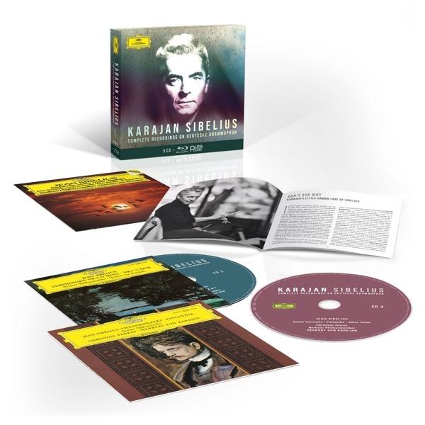 Complete Sibelius Recordings On Deutsche Grammophon - Herbert von Karajan
