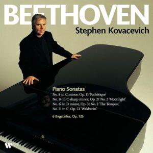 Beethoven: Piano Sonatas Nos. 8, 14, 17 & 21, Bagatellen Op.126 (Vinyl) - Stephen Kovacevich